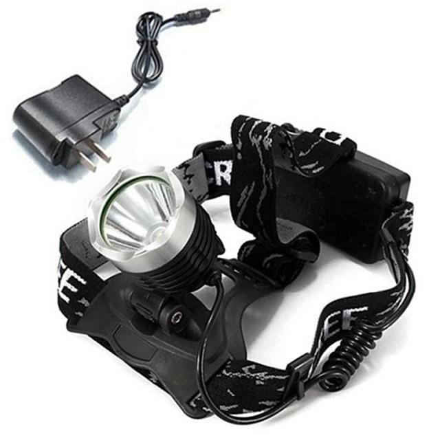 Frontale Becul farurilor 1600 lm LED Cree® XM-L T6 emițători cu Încărcător Reîncărcabil Camping / Cățărare / Speologie Ciclism Multifuncțional