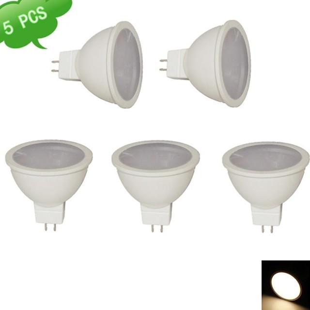 Spoturi LED 810 lm GU5.3(MR16) MR16 15 LED-uri de margele SMD 3020 Alb Cald 12 V / RoHs / CE
