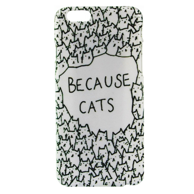 Because Cats Pattern hoesje for iPhone 6