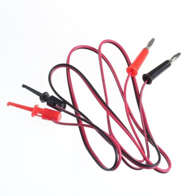 linia de testare / mufe banană porni încercare cârlig / 2 dop cârlig rândul 2 (1 m lungime de cablu)