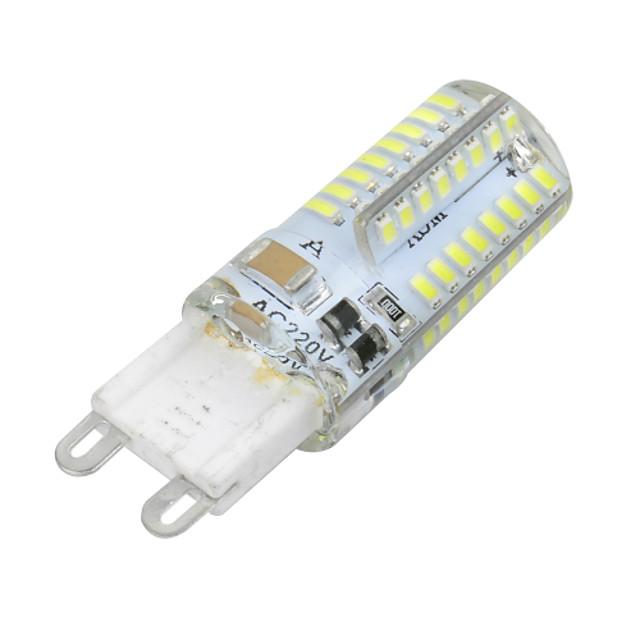 1 buc 3 W Becuri LED Corn 300 lm G9 T 64 LED-uri de margele SMD 3014 Intensitate Luminoasă Reglabilă Alb Cald Alb Rece 220-240 V / RoHs