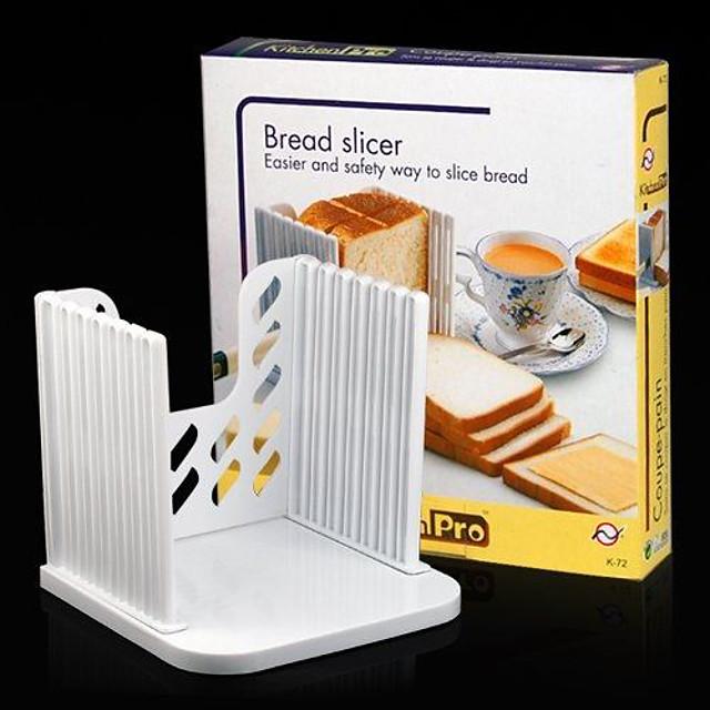 bröd toast sandwich slicer cutter mögel maker kök Guide segmenteringsverktyg 16 * 16 * 2cm