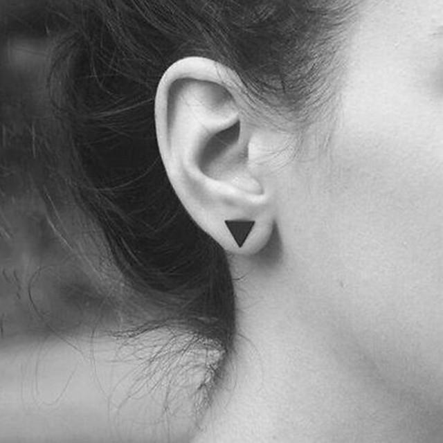 Cercei Stud femei European Modă cercei Bijuterii Auriu / Negru / Argintiu Pentru Zilnic Casual