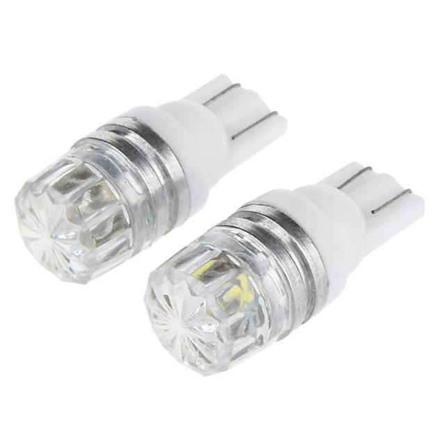 SO.K Automatique LED Feux de position latéraux T10 Ampoules électriques 100 lm LED SMD 1 W 1 Pour Universel 2pcs