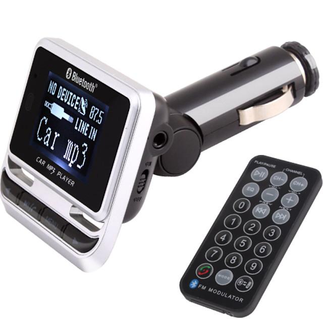 transmetteur fm avec kit voiture mains libres Bluetooth / sans fil avec contrôleur / Bluetooth 2.0 / lecture mp3 usb / carte tf