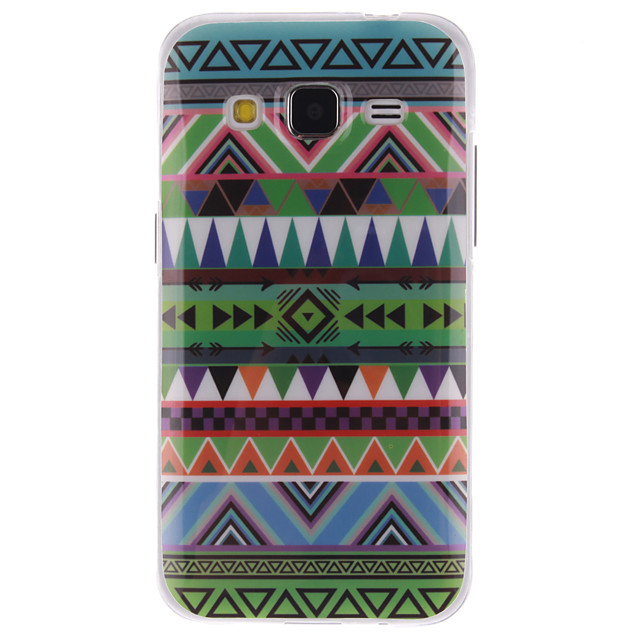 Magic Spider®Chequer In-Mold Decoration TPU Back Case with Screen ...