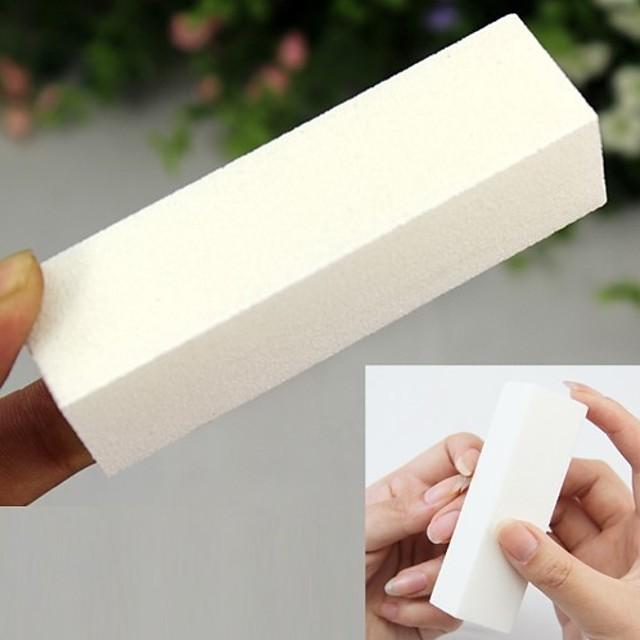 Svamp Neglemanikyrværktøjer Klassisk Daglig Nail Art Tool for Fingernegl Tånegl