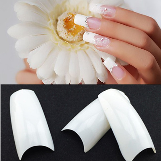 500,50PCSx10 Sizes Mixed 500stk Plast Kosmetikk Abstrakt Klassisk Bryllup Daglig til finger