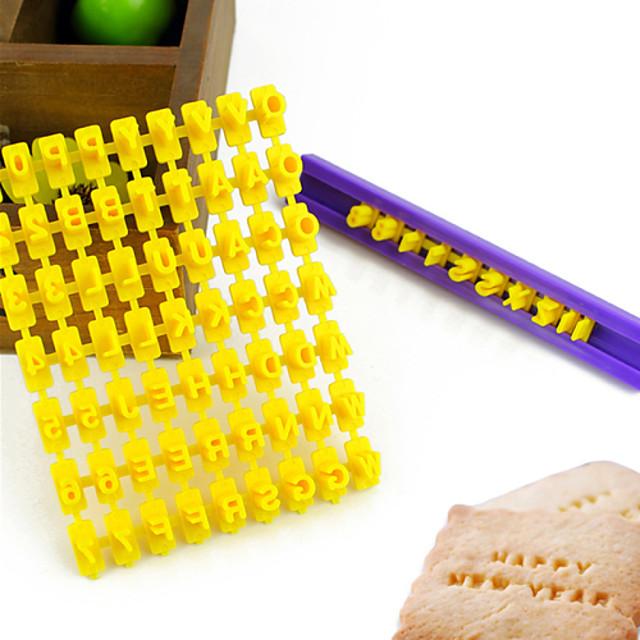 1PC بلاستيك صديقة للبيئة اصنع بنفسك كعكة بسكويت فطيرة أداة تزيين أدوات خبز