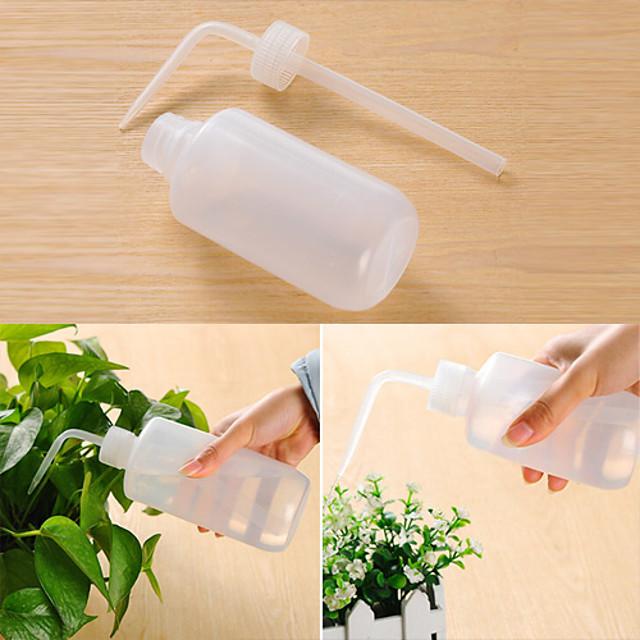 À long flacon souple à col en plastique de 500 ml (de couleur aléatoire)