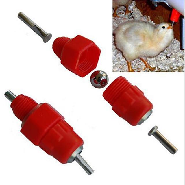 Ruokinta ja kastelu tarvikkeet - Muovi/Stainless Steel - Kannettava - Linnuille -