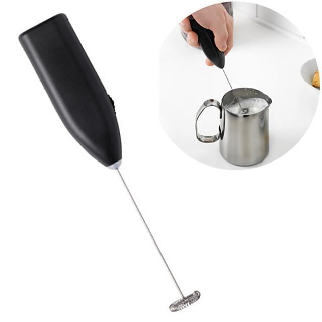 kaffe melkeskum krem foamer cappucino latte maker håndblander shake blender