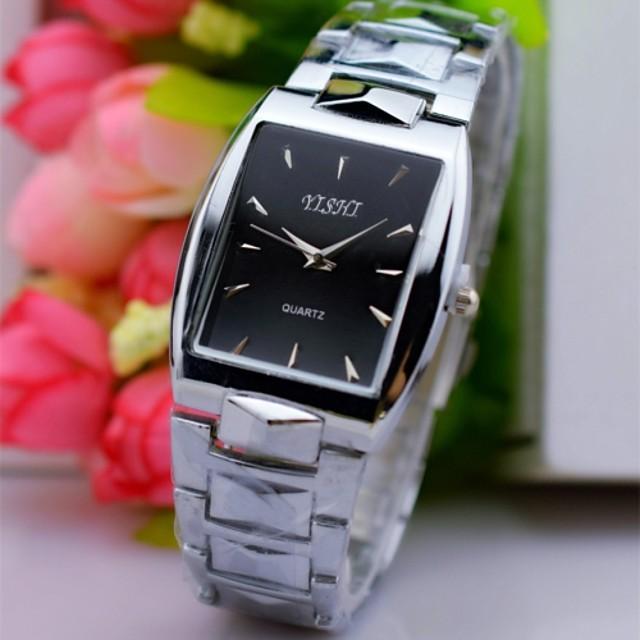 Hombre Reloj de Pulsera Cuarzo Encanto Reloj Casual Analógico Blanco Negro / Acero Inoxidable / Un año / TY 377A