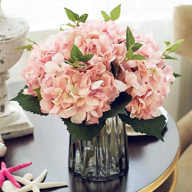 Seda Estilo europeo Buqué Flor de Mesa Buqué 1