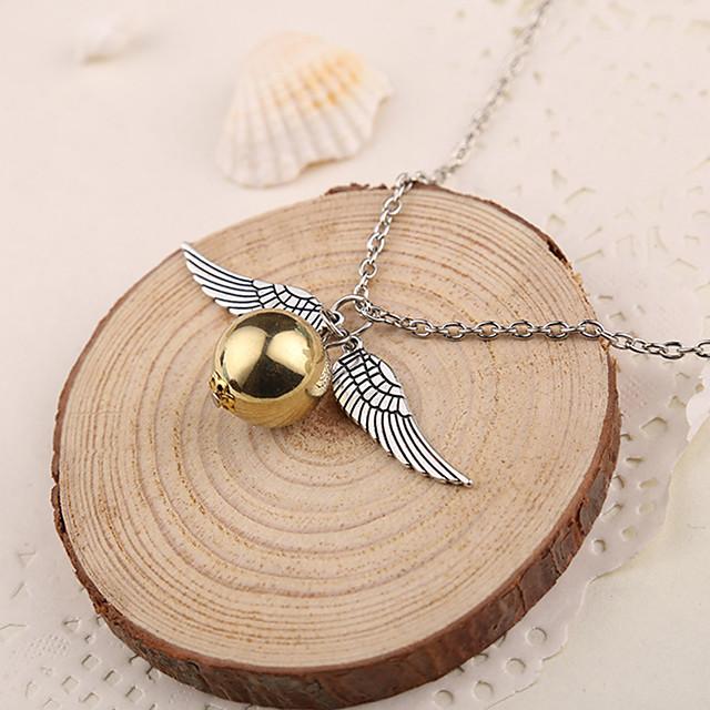 Pentru femei Coliere cu Pandativ femei Argintiu Auriu Coliere Bijuterii 1 buc Pentru