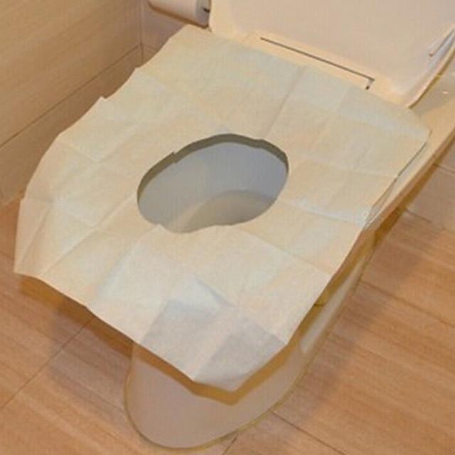 Scaun pentru toaletă Călătorie / Dispensabil Tradițional Plastic / Hârtie 1 piesă - Baie Alte accesorii pentru baie