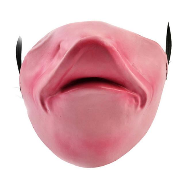 Mască de Halloween Farse Gadget Cauciuc Teme Horor Adulți
