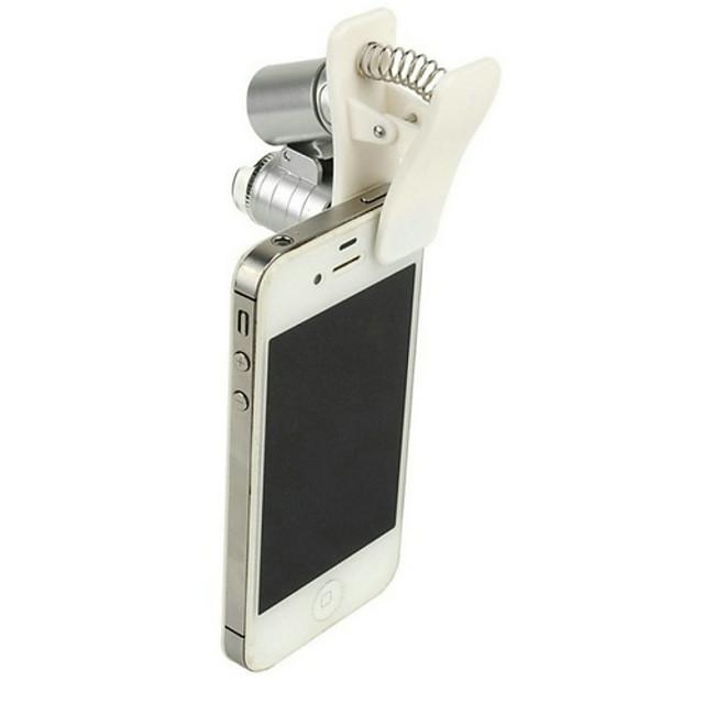 Telefon mobil cu microscop Microscop Lupe bijuterie bijuterie Distracție 60 de ori MetalPistol Pentru Pentru copii Băieți Fete