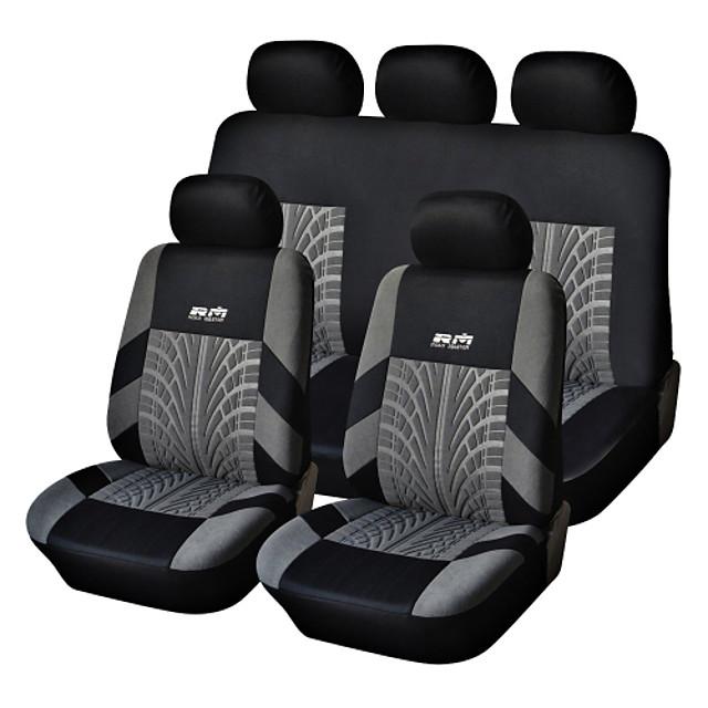 autoyouth huse pentru scaune auto huse pentru scaune textile obișnuite pentru montarea universală a majorității autoturismelor cu șenilă cu detalii de pe pneuri pentru protecția scaunului auto