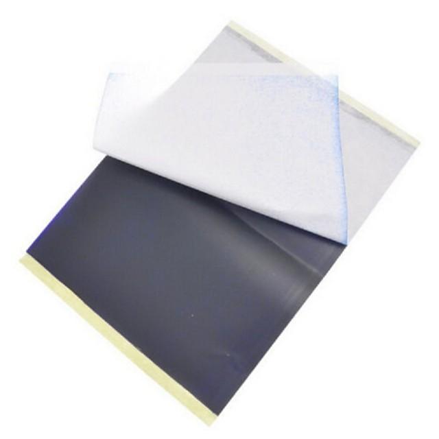 25 feuilles x papier transfert tatouage au pochoir de carbone thermique traçage kit a4