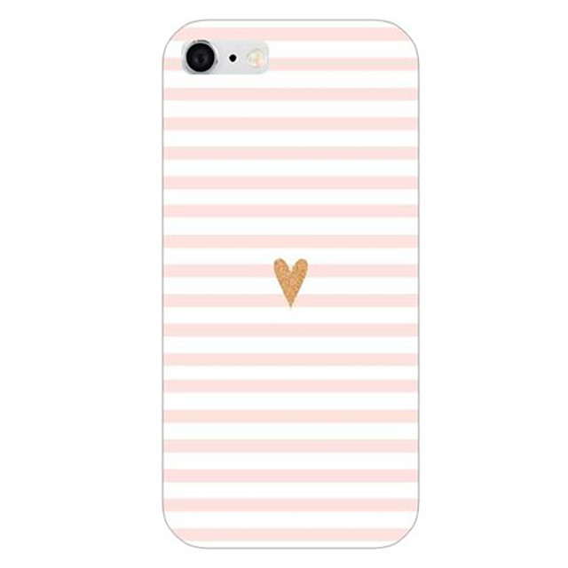 For iPhone 6 etui iPhone 6 Plus etui Mønster Etui Bagcover Etui Linjeret / bølget Hårdt PC for iPhone 6s Plus/6 Plus iPhone 6s/6