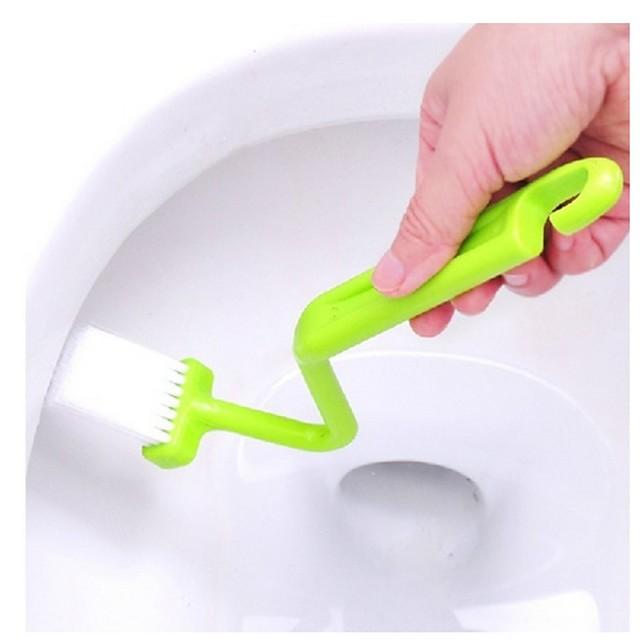 v tip curbat toaletă placă de toaletă curățare colț de toaletă