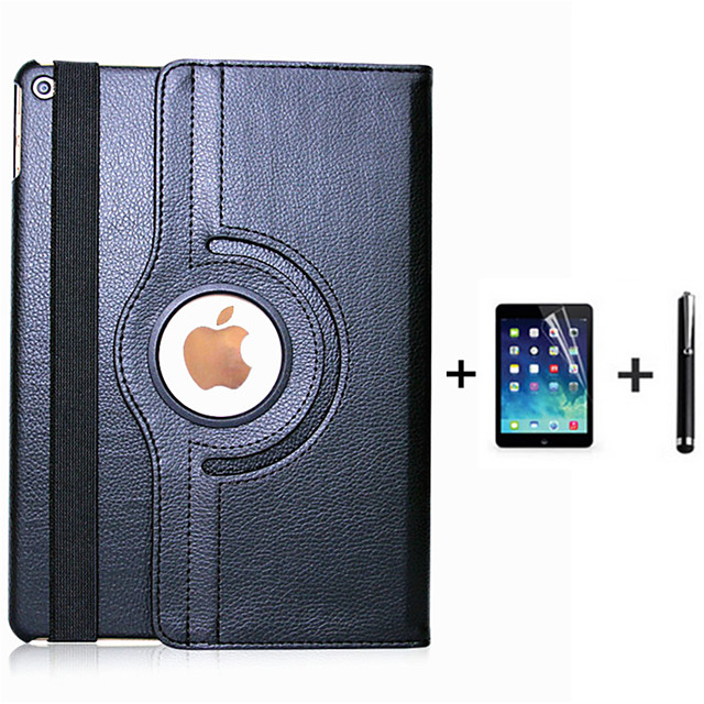 telefono Custodia Per Apple Integrale iPad 4/3/2 iPad (2017) Rotazione a 360° Con supporto Standby automatico / accendimento automatico Tinta unita pelle sintetica