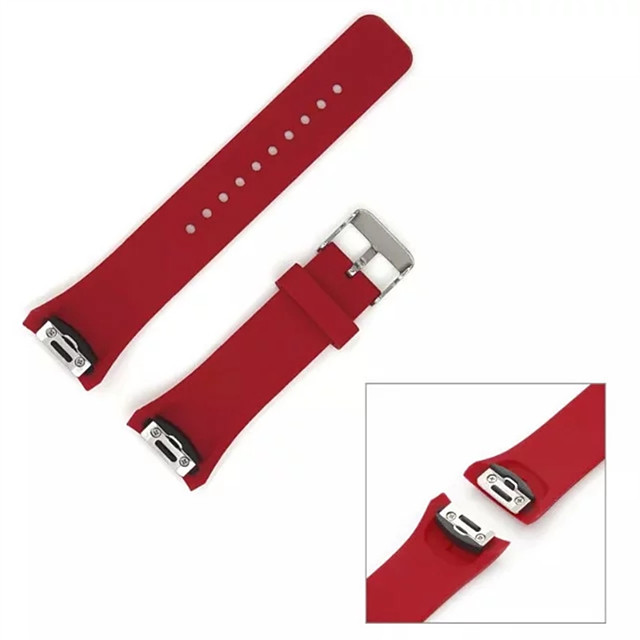 novo silicone pulseira pulseira de substituição ajustável para Samsung Galaxy engrenagem s2 (SM-R720) clássico