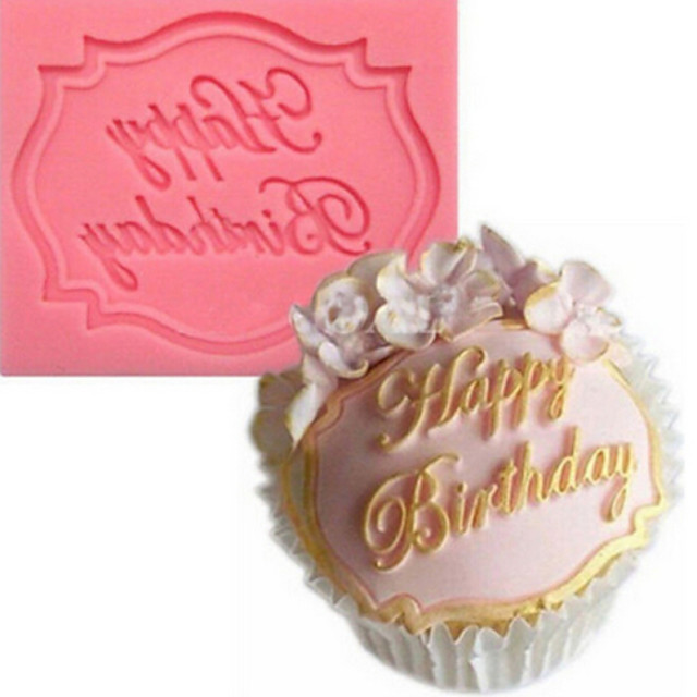 Cauciuc siliconat #D Tort Cupcake Plăcintă coacere Mold Instrumente de coacere