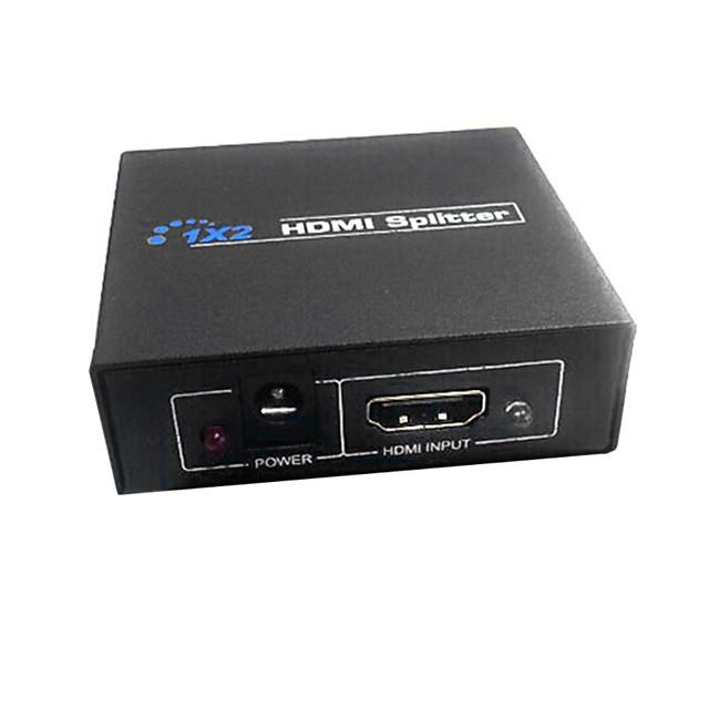 HDMI v1.3 1x2 Splitter HDMI (1 în 2 out) suport 3D 1080p