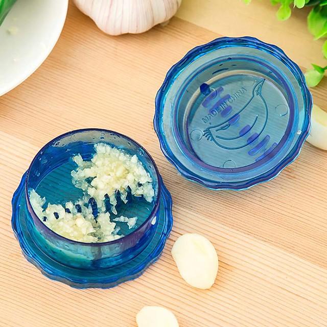 πρέσα σκόρδου κουζίνα εργαλεία μαγειρικής ανακατέψτε το σκόρδο αποφλοιωτή θραυστήρα συστροφή καινοτομία νοικοκυριά κόφτη λαχανικών (τυχαία