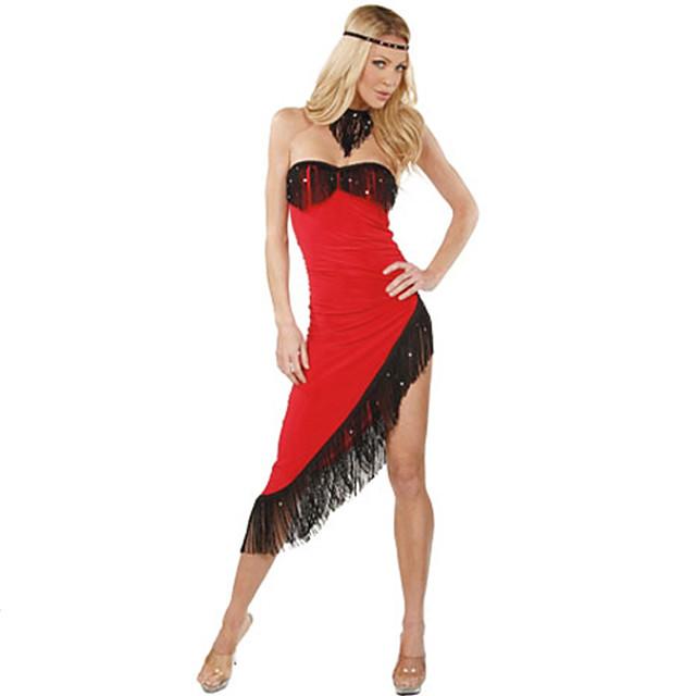 Sexy Spaghetti Strap Tassel Party Latin Tango Tops Skirts Dance Dress On Galleon Philippines