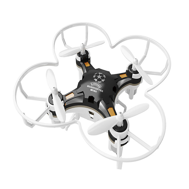RC Drone FQ777 124 RTF 4CH 6 Axis 2.4G RC Quadcopter One Key To Auto-Return / Headless Mode / 360°Rolling RC Quadcopter / Remote Controller / Transmmitter / USB Cable / Ground Station