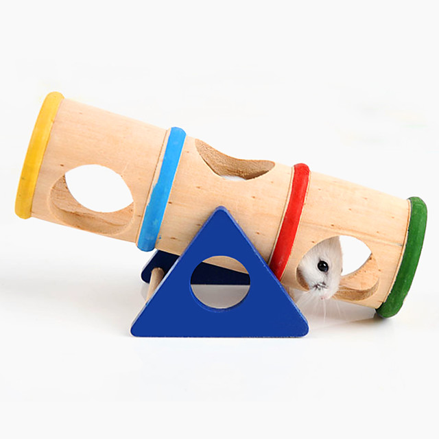 チンチラ マウス ハムスター おもちゃ 回し車 多機能 コスプレ ウッド