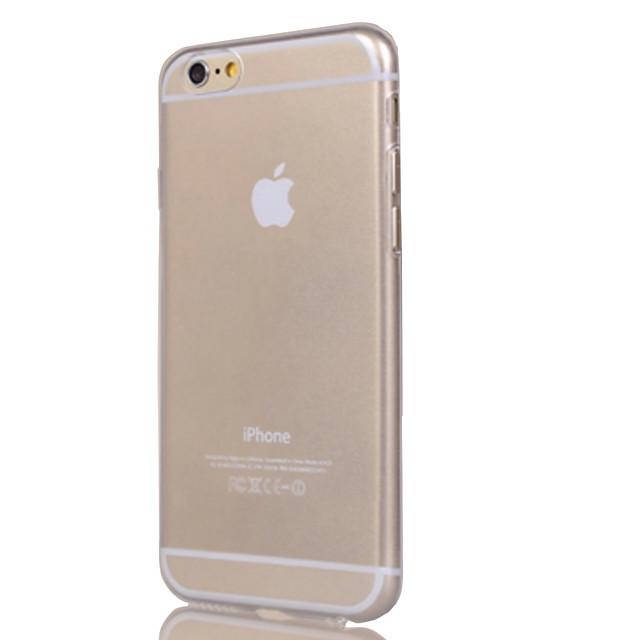 Maska Pentru Apple iPhone 7 Plus / iPhone 7 / iPhone 6s Plus Transparent Capac Spate Mată Moale TPU
