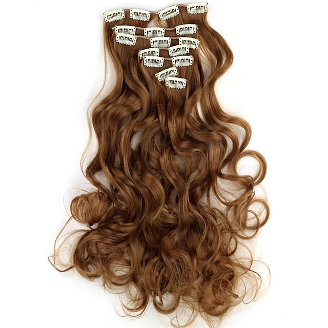 Umane extensii de par Ondulat Clasic Păr Sintetic Extensii din Păr Natural Pentru femei X5