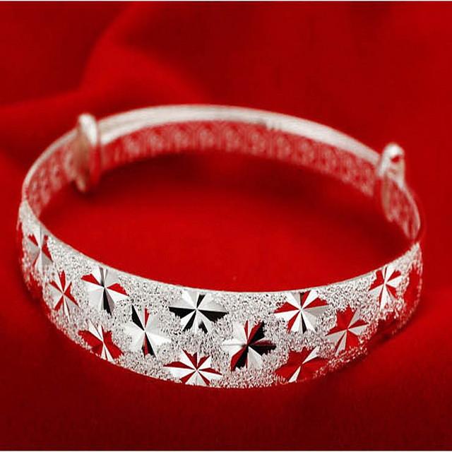 نسائي أساور سيدات الآسيوي موضة ايطالي فضة الاسترليني مجوهرات سوار فضي من أجل هدايا عيد الميلاد
