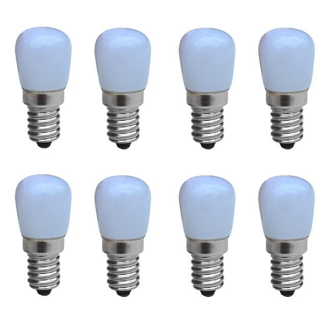 8St 1 W LED Kerzen-Glühbirnen 100-150 lm E14 B 1 LED-Perlen COB Dekorativ Warmes Weiß Kühles Weiß 220-240 V / RoHs / CCC