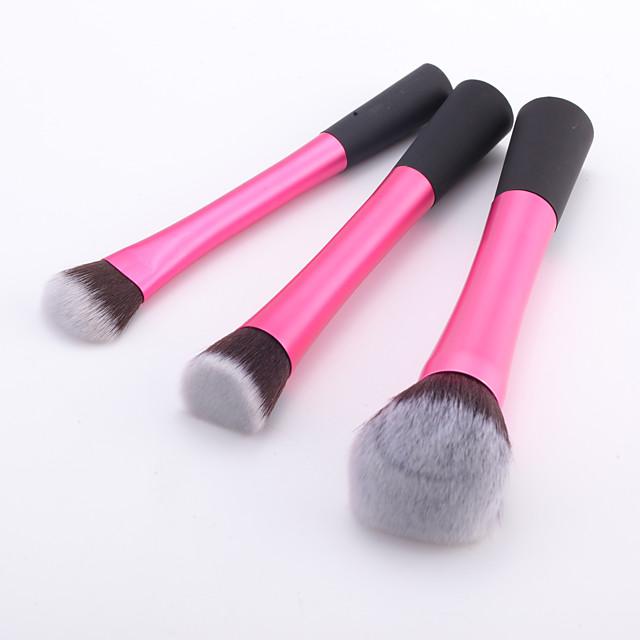 Profesional Machiaj perii Seturi perie 3pcs Păr sintetic / Perie Fibre Artificiale Pensule de Machiaj pentru Set Pensule Machiaj