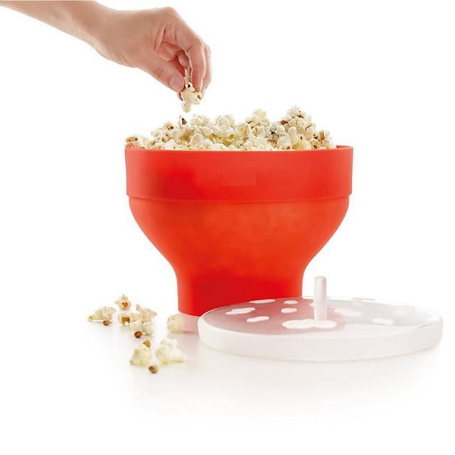 pliabile sincone popcorn maker instrumente de gătit cu microunde