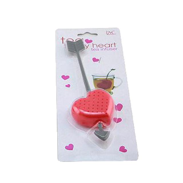 o sageata prin inima de plastic de design linguriță de ceai filtru