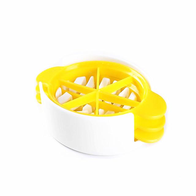 1 Creative Kitchen Gadget / Easy Cut ABS Utensílios de Ovo