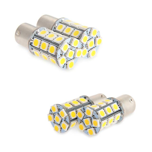 BA15S (1156) / 1156 Autó 6 W SMD 5050 6000 k Féklámpa / Tolató lámpa