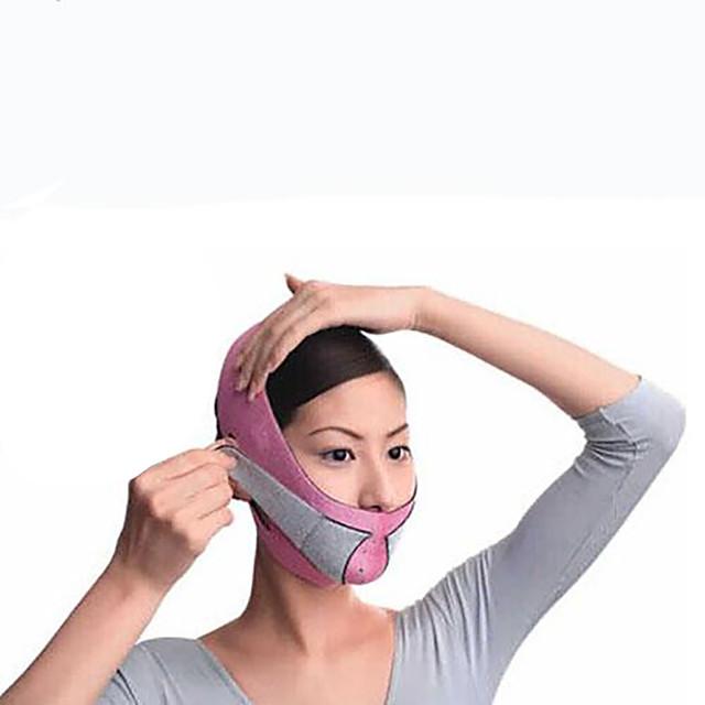 un demi-masque de visage mince puissant