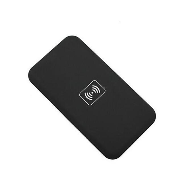 qi-încărcător wireless pad-+ adaptor receptor fără fir + TPU caz moale clar stabilit pentru iPhone 5 5s