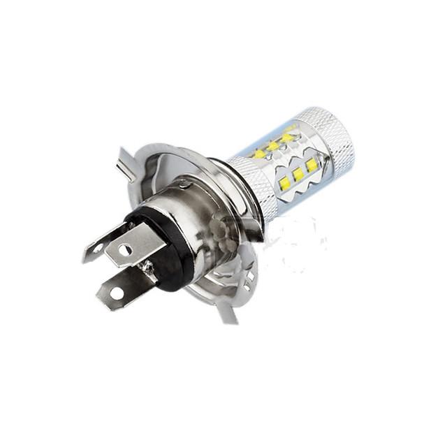 H4 светодиодные автомобильные лампочки 80 Вт 12 В противотуманные фары smd светодиодные 1200lm светодиодные фары супер яркий h4 для универсального