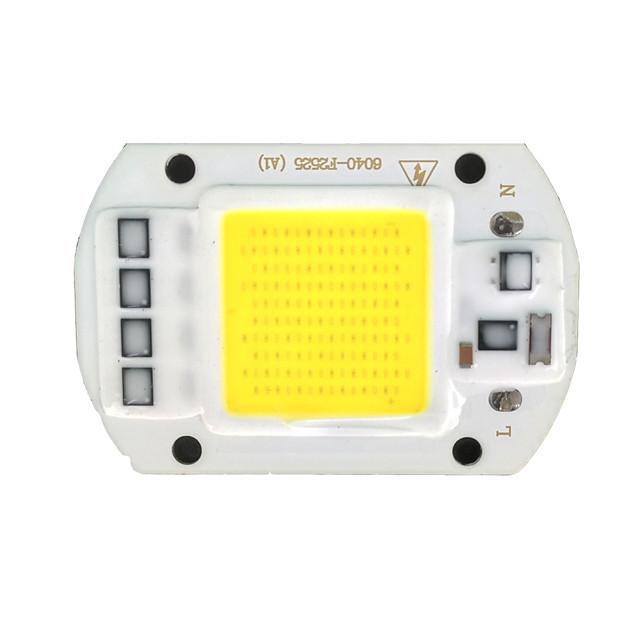 zdm® 1pc 50w รวมไฟ led 220 v ส่องสว่าง / หลอดอลูมิเนียม led ชิปเสริม