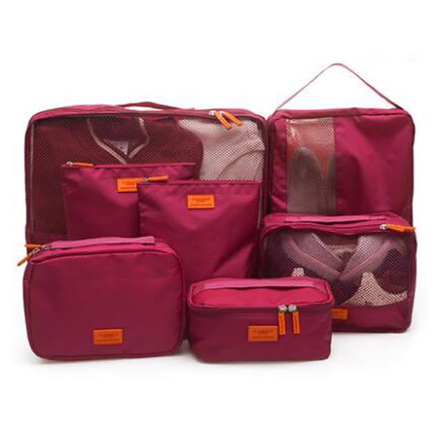 Putovanje Putna torba Organizer prtljage Torbica za cipele Putna kutija Vodootporno Prašinu Može se sklopiti Tkanina Oxford tkanina