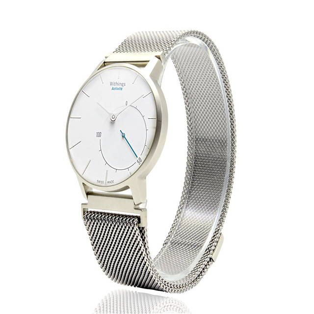 Bracelet de Montre  pour Huawei Watch / Withings Activité / Withings Activité Pop Huawei / Withings Bracelet Milanais Acier Inoxydable Sangle de Poignet