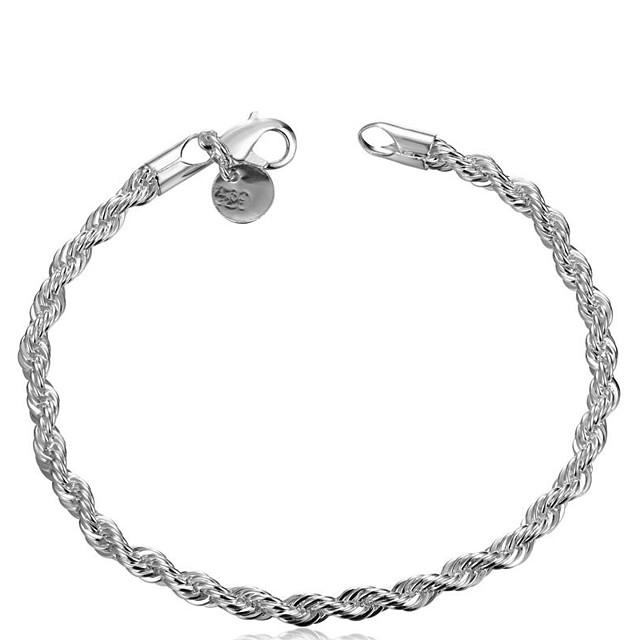 Pentru femei Brățări cu Lanț & Legături femei Design Unic Clasic De Bază Modă Articole de ceramică Bijuterii brățară Argintiu Pentru Nuntă Petrecere Zilnic Casual